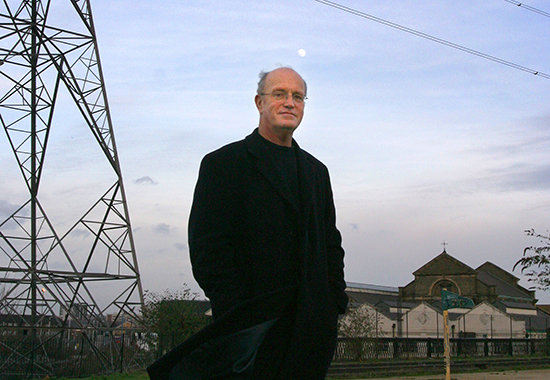 Portrait of Iain Sinclair