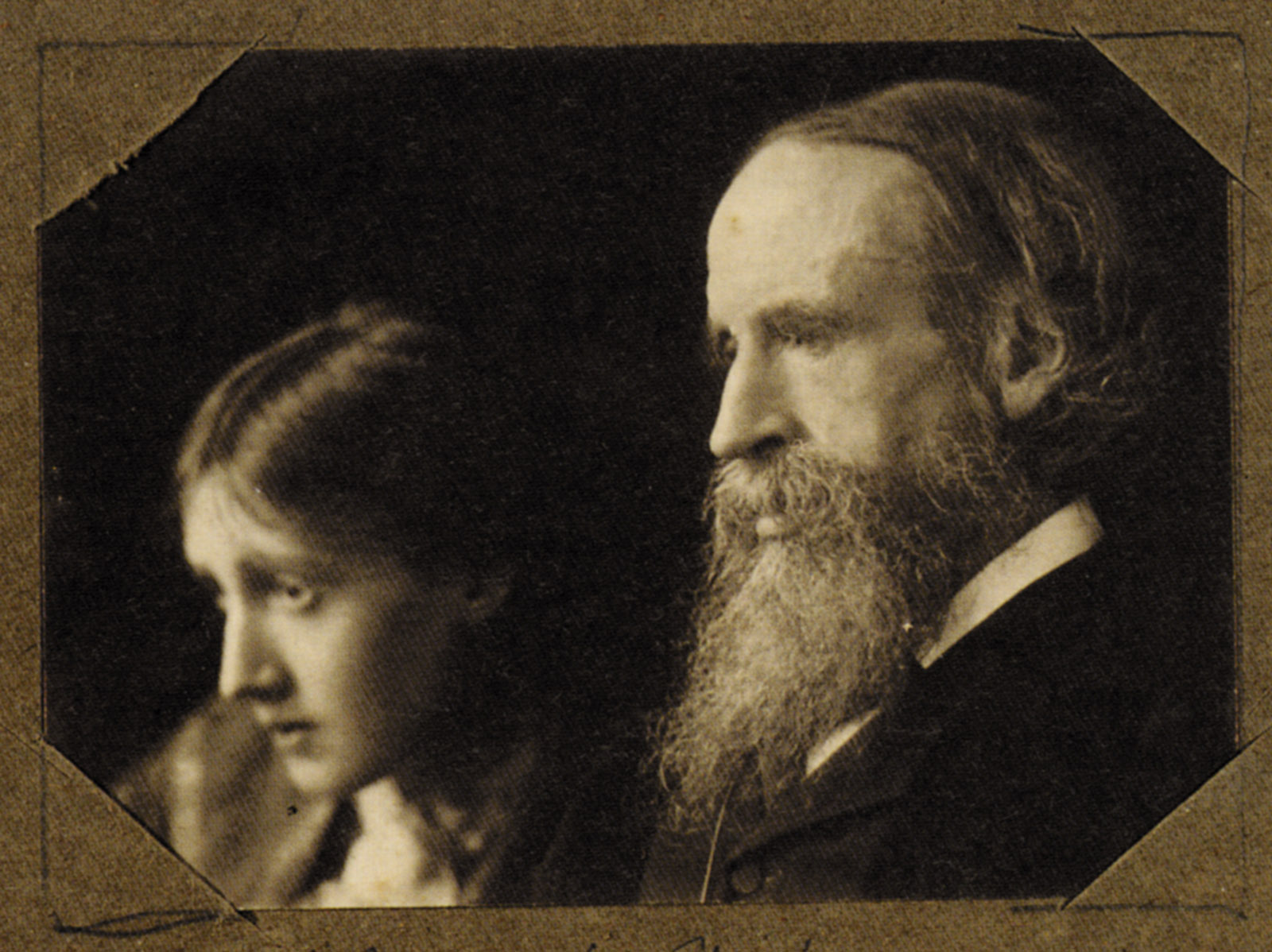 Virginia and Leslie Stephen, 1902; photograph by George Charles Beresford
