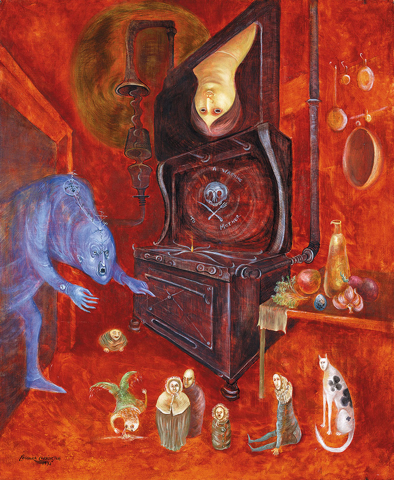 Leonora Carrington: A Warning to Mother, 1973